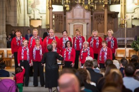 Carol Concert in aid of Children's Heart Surgery Fund at Leeds Cathedral December 2104
