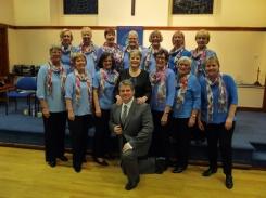With Paul Holyoyd at Kirkheaton April 2014