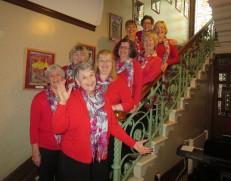 Singing Carols at Cliffe House Christmas Market November 2014