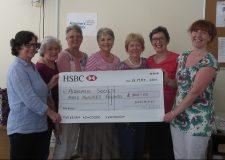 Cheque Presentation to Alzheimer's Society May 2016