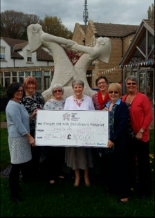Cheque Presentation to Forget Me Not Children's Hospice April 2017